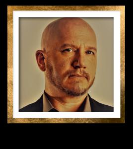 AWMiller Headshot Gold Frame