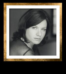Antonia Headshot Gold Frame