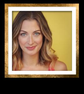 Carolyn Headshot Gold Frame