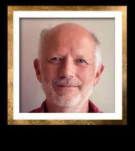 Charles Headshot Gold Frame