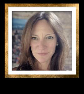 Erin Headshot Gold Frame