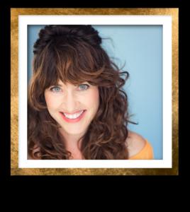 Heather D. Headshot Gold Frame