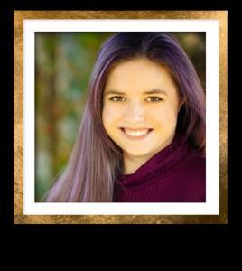 Kristin Headshot Gold Frame