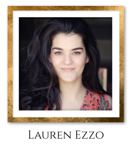 Lauren Headshot Gold Frame
