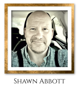 Shawn Headshot Gold Frame