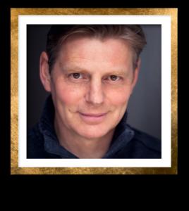 Tim Bruce Headshot Gold Frame